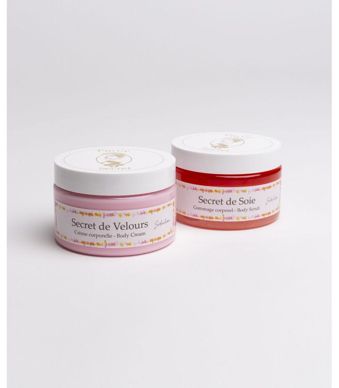 duo-care-set-body-scrub-cream-perfume-séduction-pinup-secret