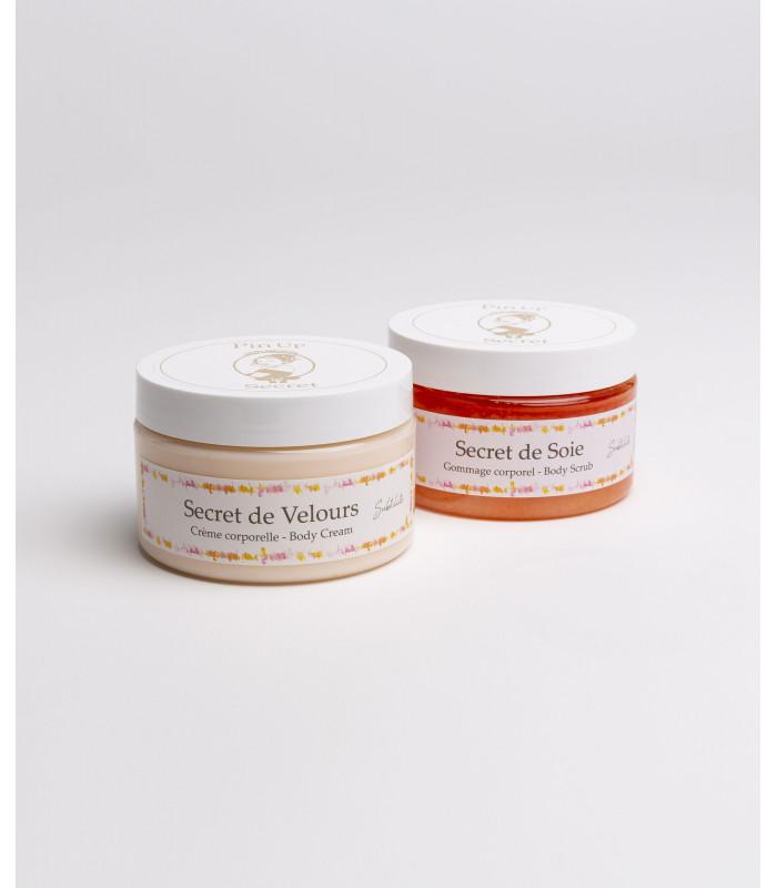 duo-care-set-body-scrub-cream-perfume-subtilité-pinup-secret