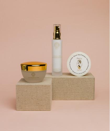 Face Care Set with Crème Sans Huile